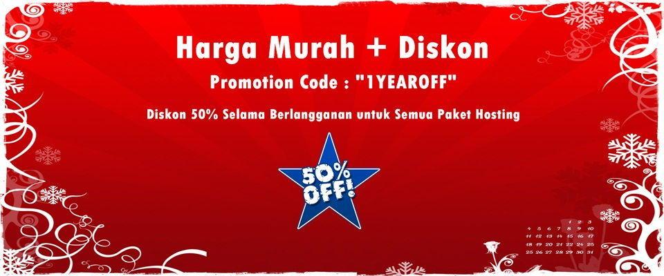 Promo Ulang Tahun DhyHost.com Diskon 50% Lifetime