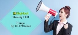 Flash Deal 11.11 ! Web Hosting dan Reseller Hosting hanya Rp 111.119