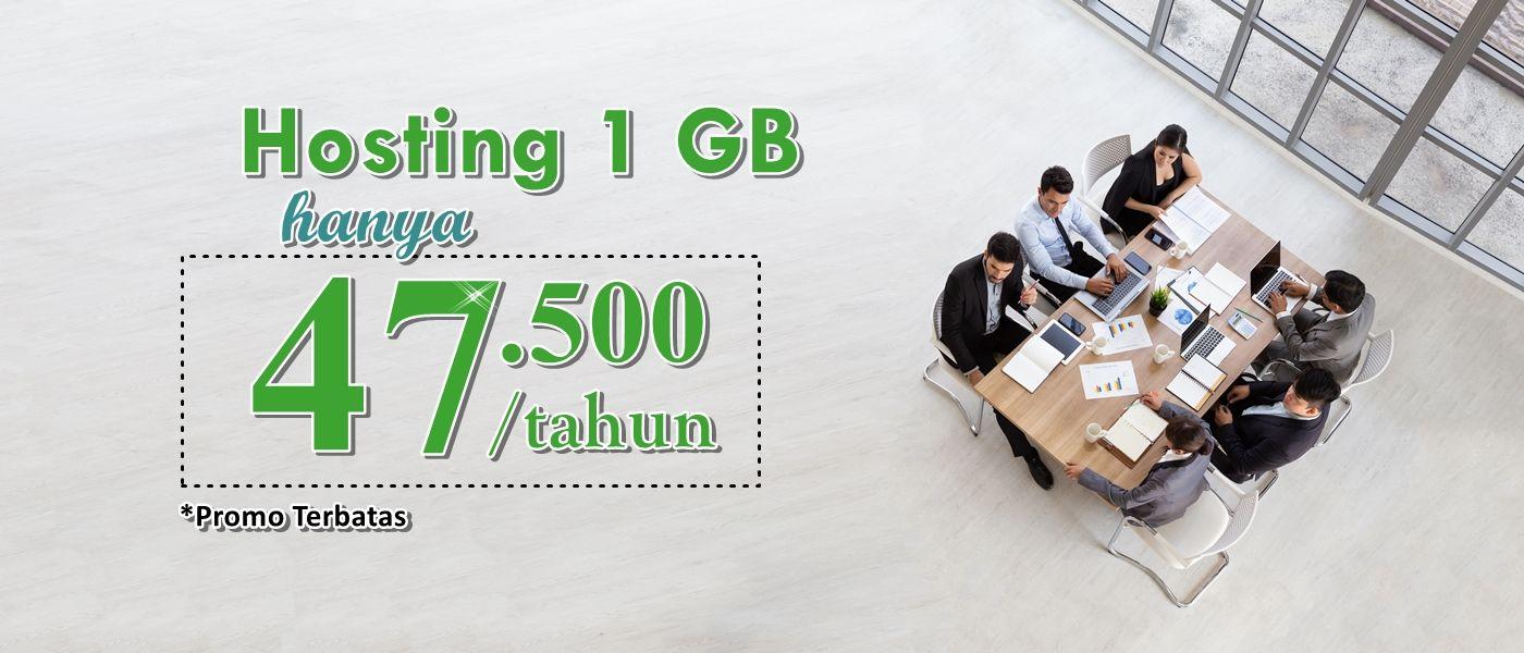 promo hosting murah hanya 47rb