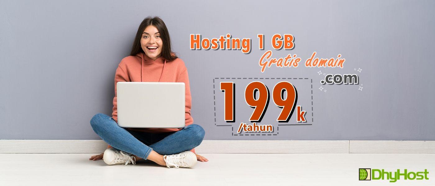 hosting murah dan gratis domain